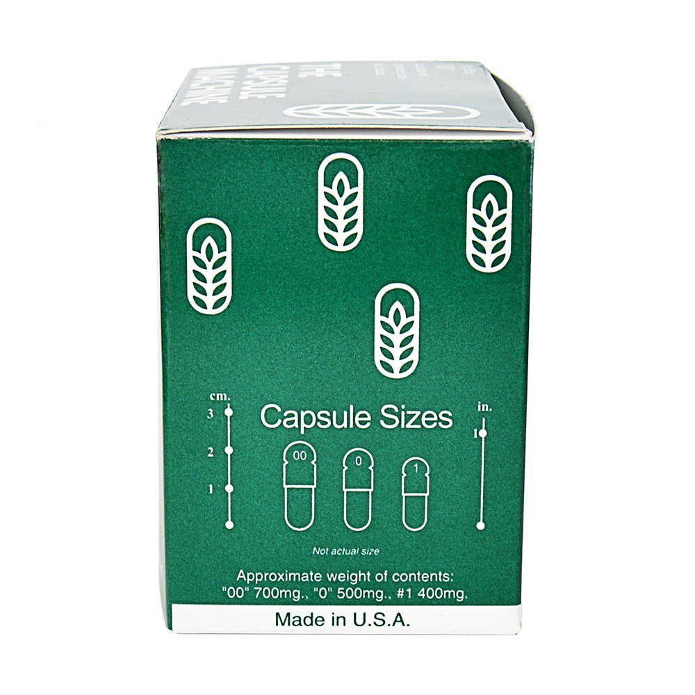 capsule machine size 00
